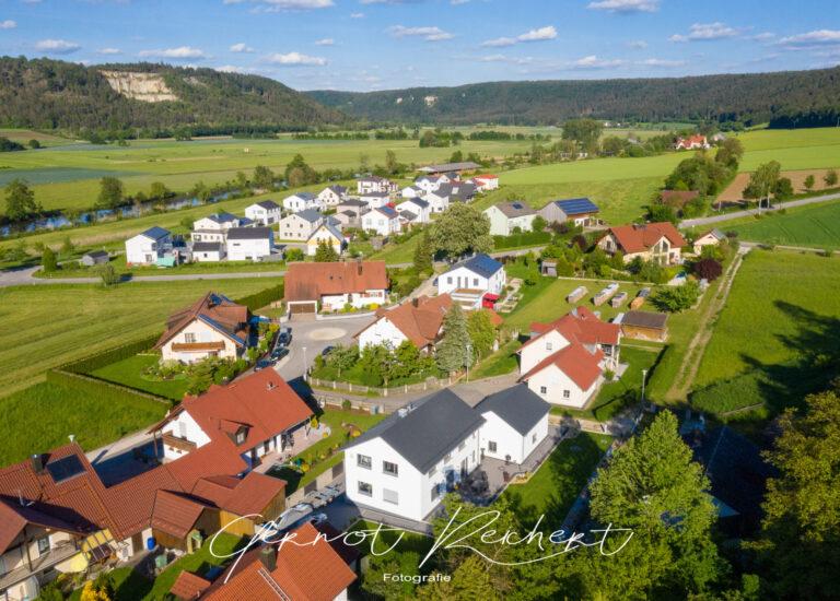 drohnenbild luftaufnahme immobilien